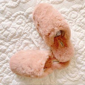 NIB Madewell Wallis Faux Fur Slippers